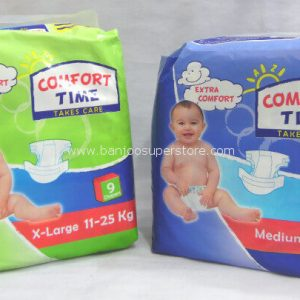 Comfort time take care(X-large 9 diaper)(medium 11 diaper)-2.50 (1)