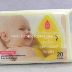 Johnson's baby extra sensitive wipes-6.20-3.80 (4)