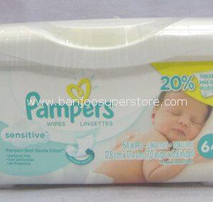 Pampers wipes lingettes sensitive-8.90 (2)