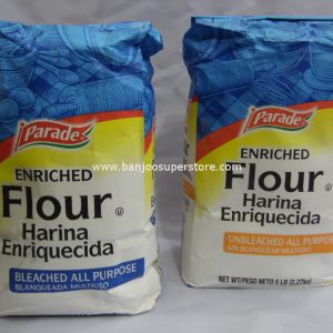 Parade enriched flour (unbleached all purpose) & (bleached all purpose)-Full View