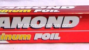 Diamond aliminum foil 200sq.ft.-10.40 (1)