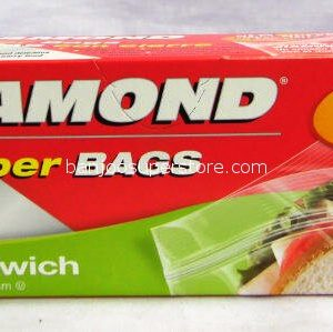 Diamond zipper bags 50 bags 4.45