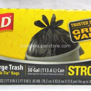 Glad great value strong 21 trash bags-11.30 (2)