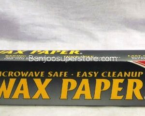 Home smart microwave safe. easy cleanup wax paper 30sq.ft.-2.80 (1)
