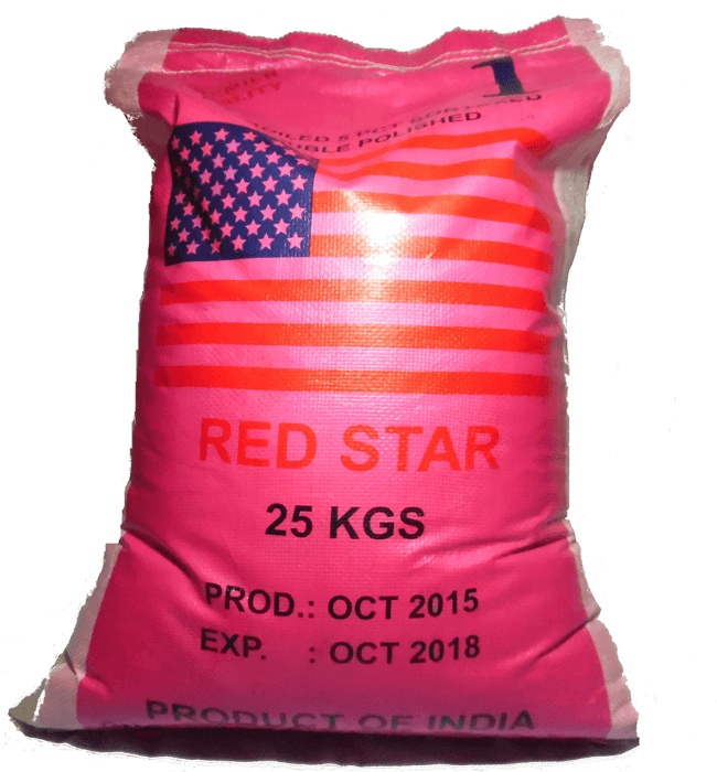Red Star 25kg Bag Of Rice
