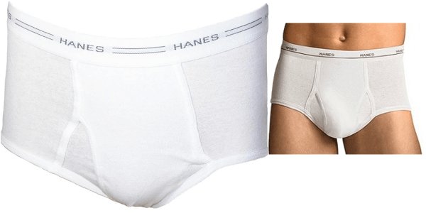 63676793aab5aa Hanes Men's Briefs 100% Cotton, White (Pack of 7-New) - Banjoo ...