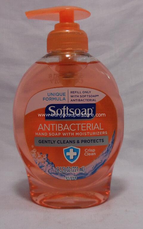 Softsoap Antibacterial Hand Soap Banjoo Superstore