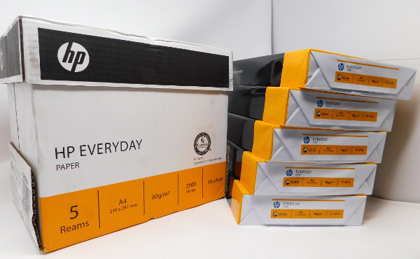 HP Everyday Paper (Box of A4 ream) - Banjoo SuperStore