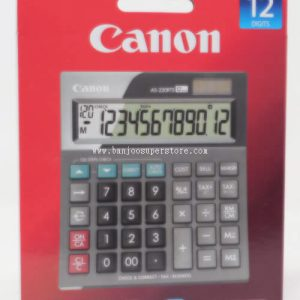 Canon desktop (12 digits) calculator-11.00