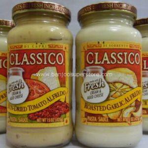 Classico fresh(creamy alfredo)(sun-dried tomato alfredo)(roasted garlic alfredo(four cheese alfredo)-7.10EB (2)
