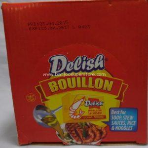 Delish bouillon shrimp-3.00