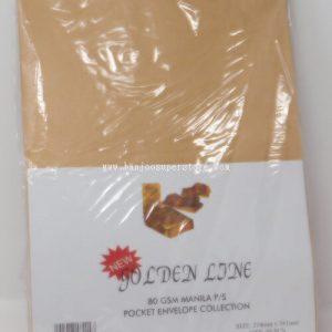 Goldenline pocket envelope (50pcs)-6.70
