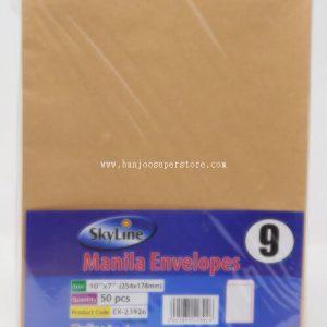 Manila Envelope (A5 50pcs)-3.50