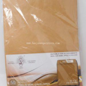 Manila Peel & Seal Envelope (50pcs)-7.80