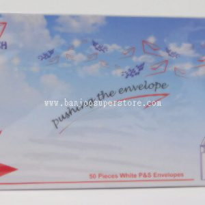 P&S white envelope (50pcs)-1.25 (1)