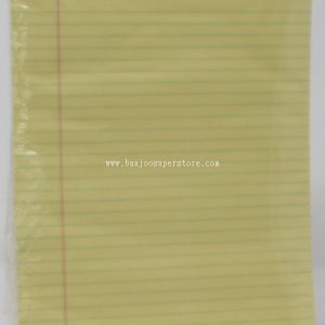 Yellow pad (A4-10pcs) note book-11.00
