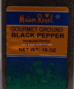 Maison royal gourmet ground black papper-22.50