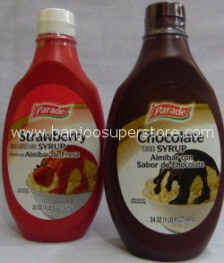 Parade(strawberry & chocolate syrup)-4.80 (3)