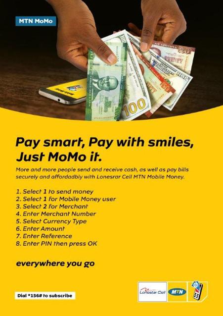 Mobile Money - Banjoo SuperStore